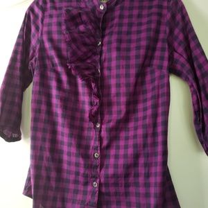 Converse checked shirt size S